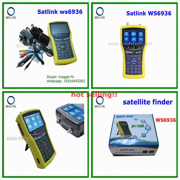 4 3inch Lcd Dvb S Amp Dvb T Combo Digital Satellite Finder