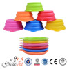 [Grace Pet] silicone food and water dog travel bowl