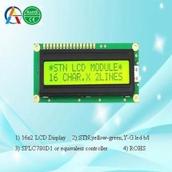 1602 lcd display, 16 characters 2 line lcd panel, mono cog 16x2 lcd module