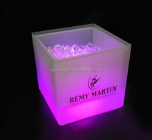 Acrylic Circular Wine Led Ice Bucket Table Party Cooler with factory price