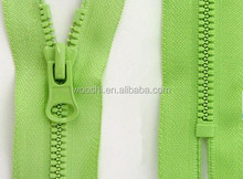 High Quality No.5 Fashion Closed-End Plastic Zipper Use For Leather And Bags