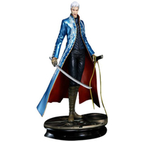 new arrival Devil May Cry III 3 Vergil Cosplay costumes mens halloween suit adult anime christmas clothes wholesale price