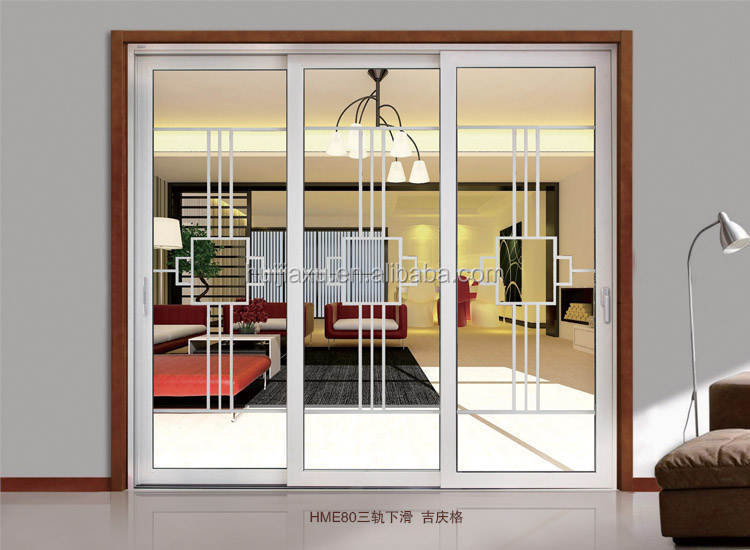 Church door used exterior sliding commercial garage glass for Sliding glass garage doors