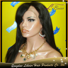 Wholesale grade aaaaa color #1b silky straight lace wig base cap from china