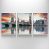 3 Panel Cityscape Canvas Print,Photo Framed Big Ben Picture Print,New Arrival Home Decor Art