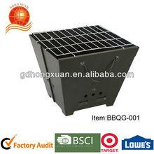 facilitar su transporte/carbón portátil parrilla/mini parrilla artículo bbqg- 001