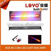 Wireless control car strobe light bar LED warning lamp head light flash 12V led strobe light controller