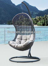 Patio furniture hanging chair/ swing chair/ rattan hammock