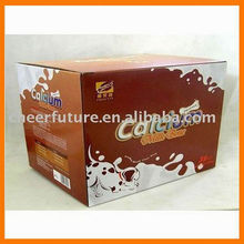 Durable milk cardboard box popular in milk packaging
