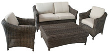 OEM Factory Outdoor Furniture Rattan Outdoor Sofa DH-N9053
