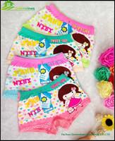 little baby panti lovely girl boxers briefs to MON fashion kids underpants bamboo children's underwear GVFR0015
