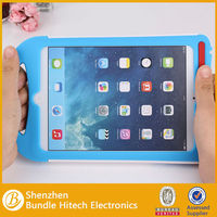 kid shockproof tablet case portable silicon case for apple ipad mini