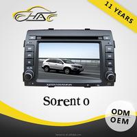 OEM 2 Din Sorento DVD GPS Navigation Radio TV Mp3/Mp4 Player Window CE6.0 Built In Bluetooth Hand Free Call