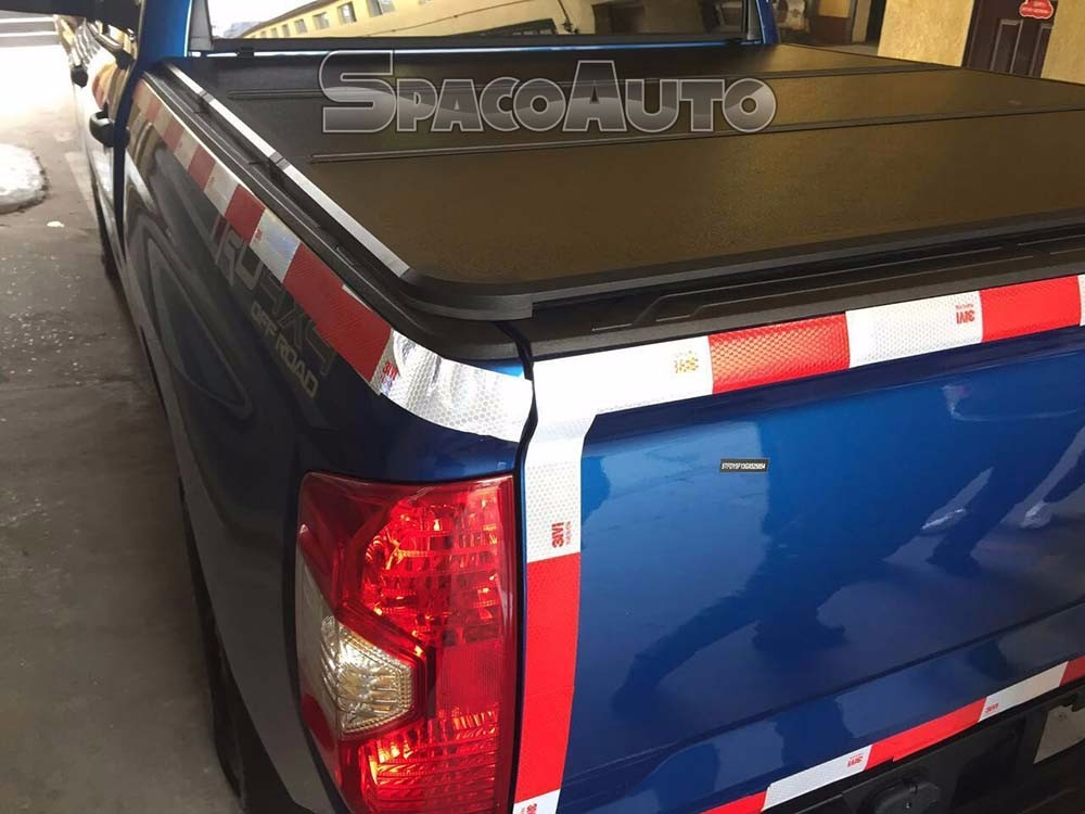 Hard Folding Tonneau Pick Up Truck Bed Cover for Toyota Tundra 5.5' bed