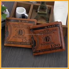 Wholesale Cheaper Custom Men Leather Wallet