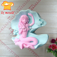 silicone girl shaped soap mold