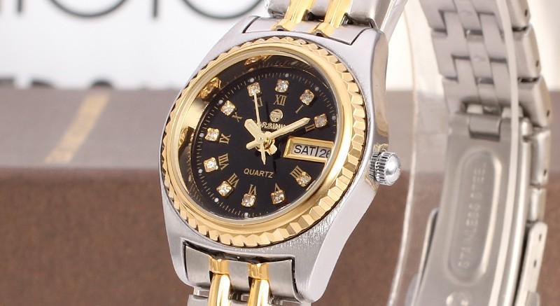 Известный бренд FORSINING FSL8016Q4T1 Кварц серебряные дамы наручные часы браслет из нержавеющей стали лучший подарок доставка бесплатно