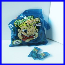 Super sour sweet hard candy