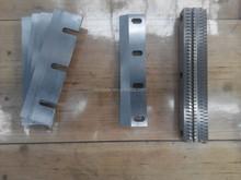 W6MO5Cr4V2 chipping knives /sliced blades rotary cut peeled