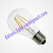 4 Watt Dimmable Lantern Filament LED E27 Clear Edison