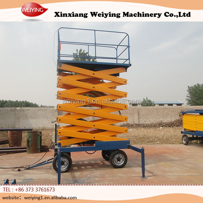 Small Hydraulic Lift Platforms : Mobile small hydraulic lift platform buy