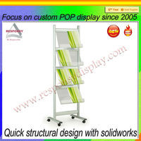 Sample shelf for marble exhibition stand for tile display rack for wood floor