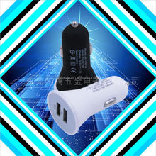 High quality beautiful bright dc 12v-24v input car charger wholesale