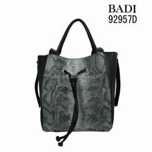 2015 fake python tote bag online shopping animal skin luxury handbags from Europe