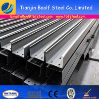 SS400 Q235 S235JR Cold formed Steel C Purlin