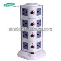 electrical multi vertical socket USB outlet multi explosion proof electrical plug and socket