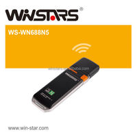 300Mbps Dual Band Wireless USB 2.0 Adapter with WPS button