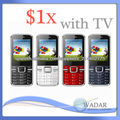 Wholesale TV Triple SIM cheapest I9500 Mobile Phone