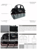 strong industrail 2015 Top sale high quality 600D kit bag