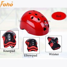 Customized womens bike helmets in red color