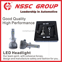 NSSC high power cob auto led car headlight 24w 2400lm daylight 6000K waterproof IP 68 bulb