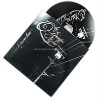 Standard CD duplication, disc CD replication, CD cardboard sleeve