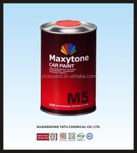 Maxytone Auto paint 2K series Fast Hardener for clear coats