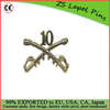 Free artwork design custom quality Buffalo Soldiers Pins
