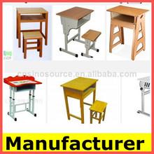 Nuevo diseño de mesa y sillas de jardín de infantes para, estudiante de escritorios, estudio de los niños de mesa y sillas