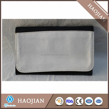 black wallet for sublimation printing, card place