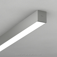 Hot sale aluminum 2x36w ceiling fluorescent light fittings,high quality light bulb ceiling fitting types