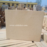 SK34 Fire clay thin brick thin fire brick refractory tile