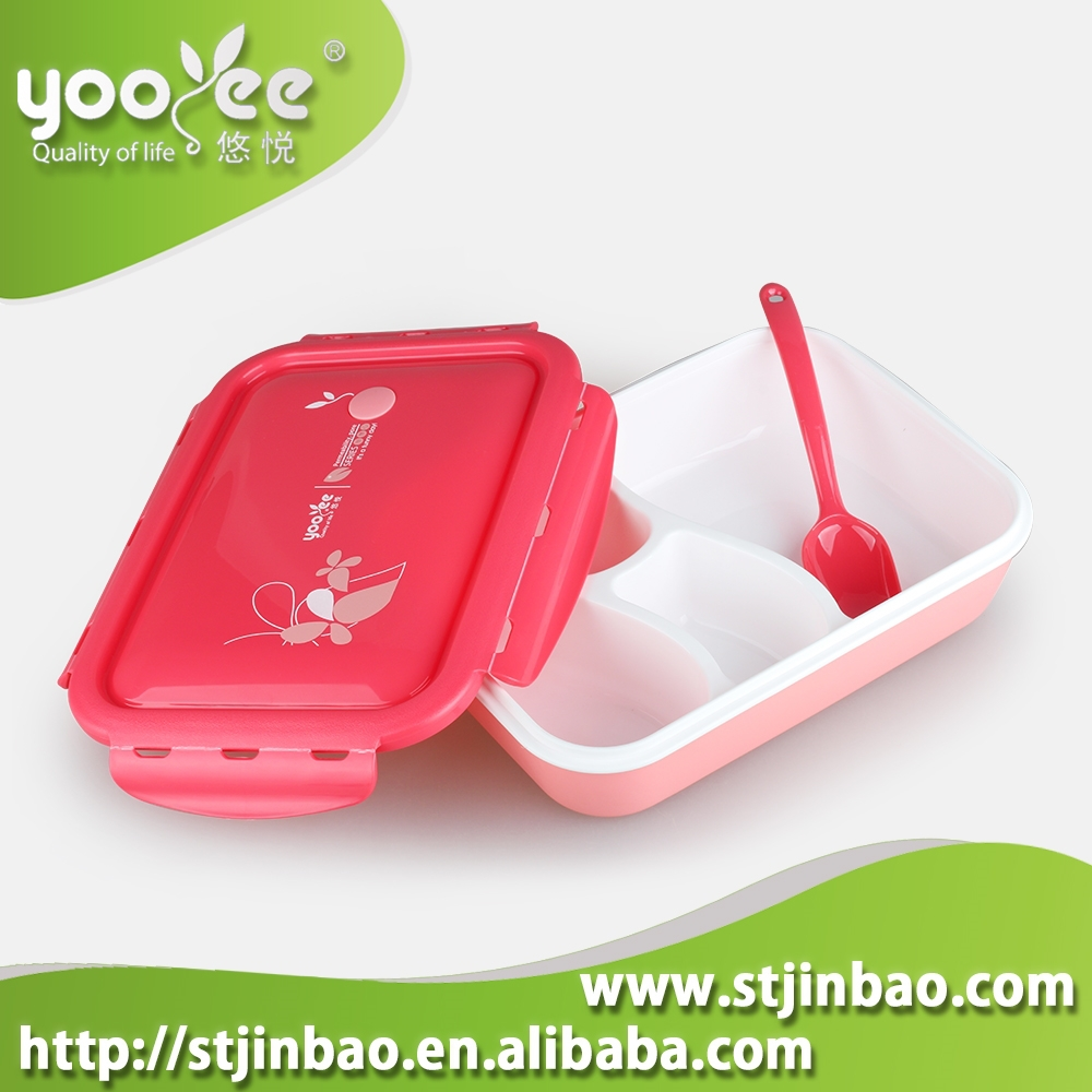 wholesale lunch container bento box with compartments for. Black Bedroom Furniture Sets. Home Design Ideas