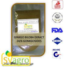 Ginkgo biloba(Flavone Glycosides, HPLC,GMP)