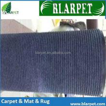 Newest cheapest top quality stripe carpet composite pvc