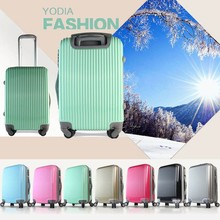Lightweight travel trolley luggage carrier