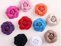 new fashion hand made Chiffon lace with beads flower, hair decoration items in stock wholesaler