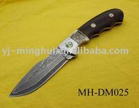 Damascus steel knife/damascus hunting knife/hunting knife