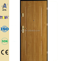 2014 New Design With High Quality Raw Wooden Door