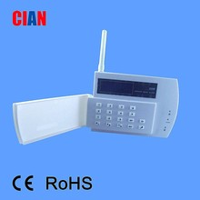 LCD Wireless GSM Alarm System Security Alarm Host Supermarket Anti-theft System